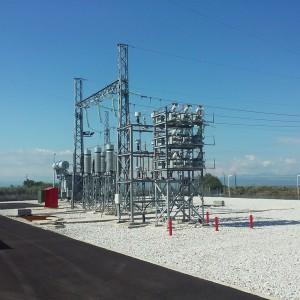 Κατασκευη υποσταθμού 120KW στο Σιδηρόκαστρο (έργα πολιτικού μηχανικού)